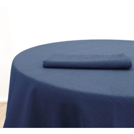 Serviette Bleu Jacquard