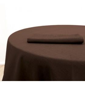 Nappe Jacquard Chocolat