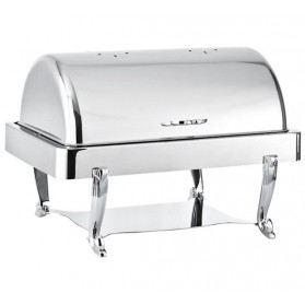 Chafing Dish Roll-Top Rectangle Argent
