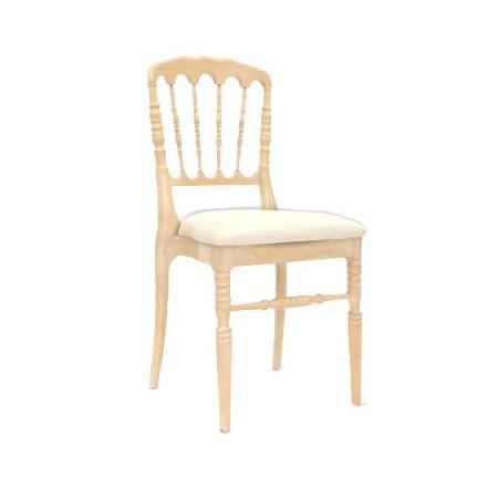 Location chaises napoleon Bois Vernis
