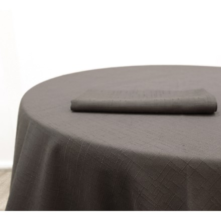 Location Nappe Jacquard Grise