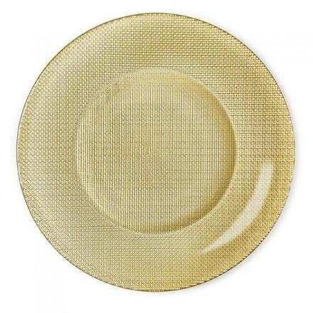 Assiette Présentation Metallic