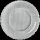 Assiette Présentation Metallic ARGENT
