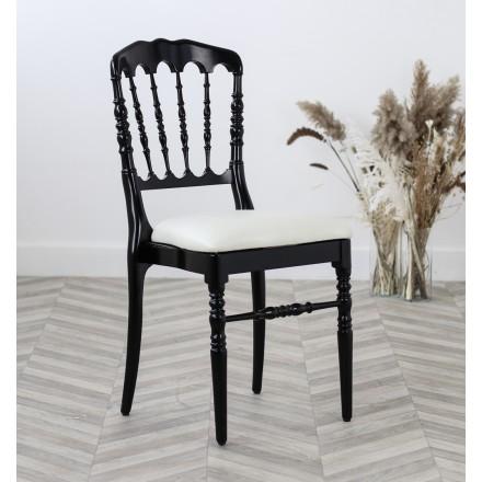 Chaise Napoleon III Noire