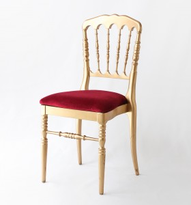 Location chaises Napoleon Or