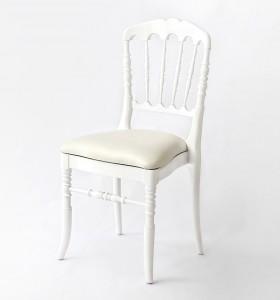 Location chaises Napoleon Blanche
