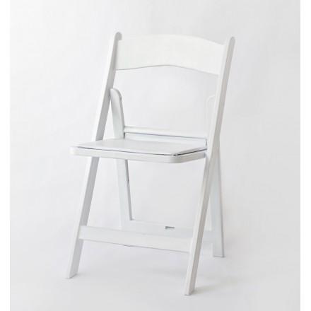 Location Chaise Pliante Blanche