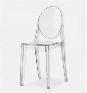 Location chaise victoria transparente mariage