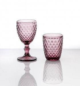 Location Verres Collection Diamond Pourpre