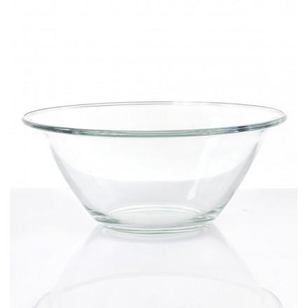 location saladier verre conique