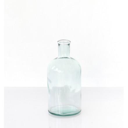 location vase bottle en verre recyclé
