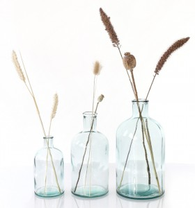 location Vases Bottle en Verre recyclé