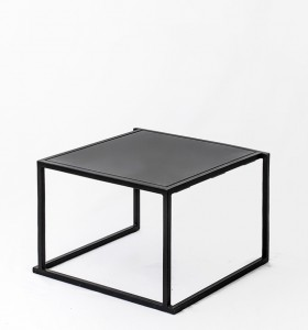 location table basse quadro noire