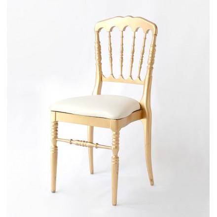 Chaise Napoleon III Dorée