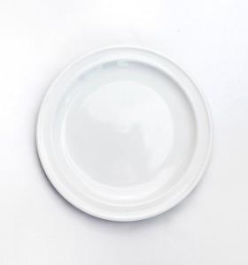 VENTE : Assiette à pain blanche