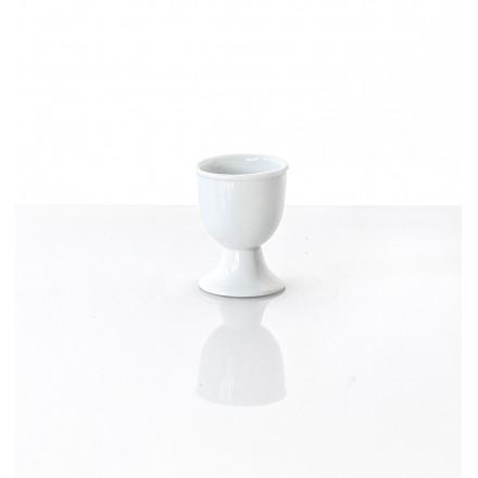 VENTE : Coquetier Blanc en porcelaine