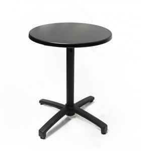 Location table guéridon noire