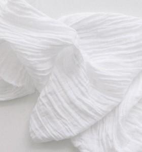 Serviette Blanche Gaze de coton 40x40