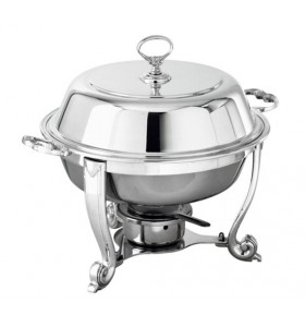 Chafing Dish rond Argent Ø31cm
